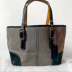 Vintage Coach Small Tote